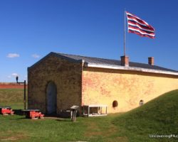Visiting Fort Mifflin in Philadelphia for the Past, Paranormal, and Planes