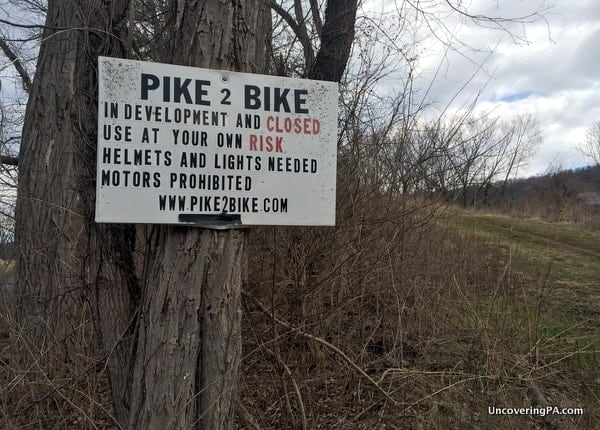 Visiting the Abandoned PA Turnpike near Breezewood