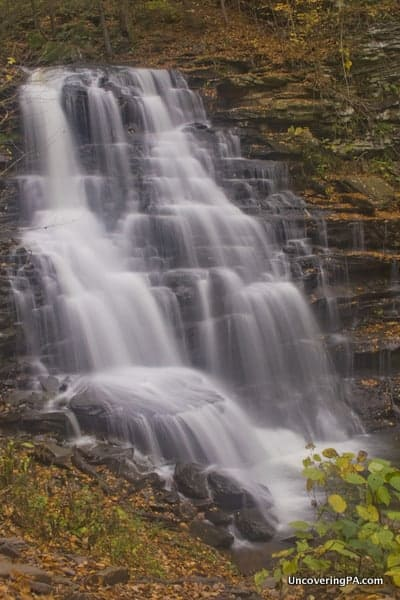 Erie Falls in Ricketts Glen State Park