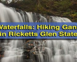 Pennsylvania Waterfalls: The Waterfalls of Ganoga Glen in Ricketts Glen State Park