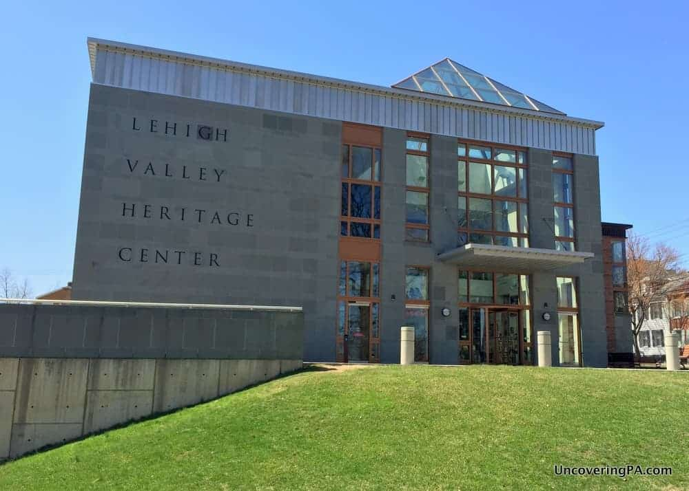 The Lehigh Valley Heritage Center is one of the first things to do near Bethlehem, PA