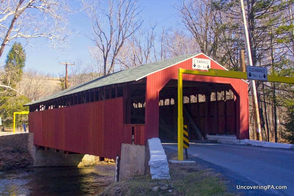 Little Gap Covered Bridge in Carbon County, PA