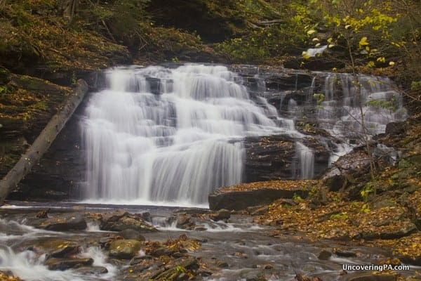 Mohican Falls in Ricketts Glen State Park
