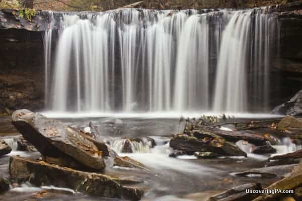 Oneida Falls in Ricketts Glen State Park, Pennsylvania