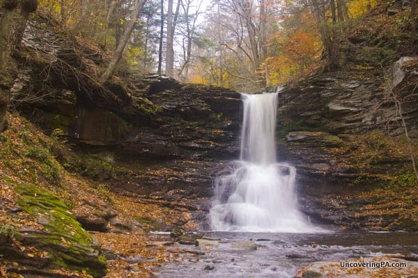 Sheldon Reynolds Falls in Ricketts Glen State Park in PA