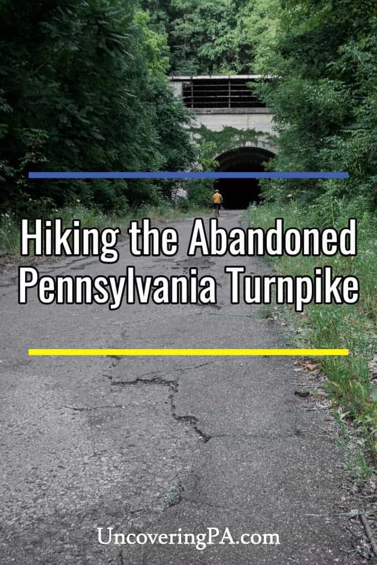 Hiking the Abandoned Pennsylvania Turnpike in Breezewood #hiking #pennsylvania #abandoned #spooky