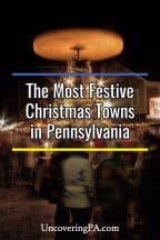 The most festive Christmas towns in Pennsylvania