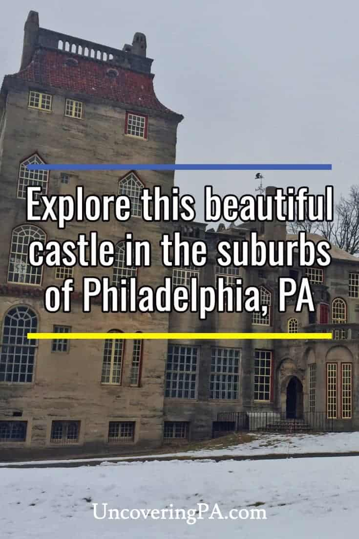 Fonthill Castle in Doylestown, Pennsylvania, is the most amazing castle in PA. #Pennsylvania #travel #castles #UnitedStates #US