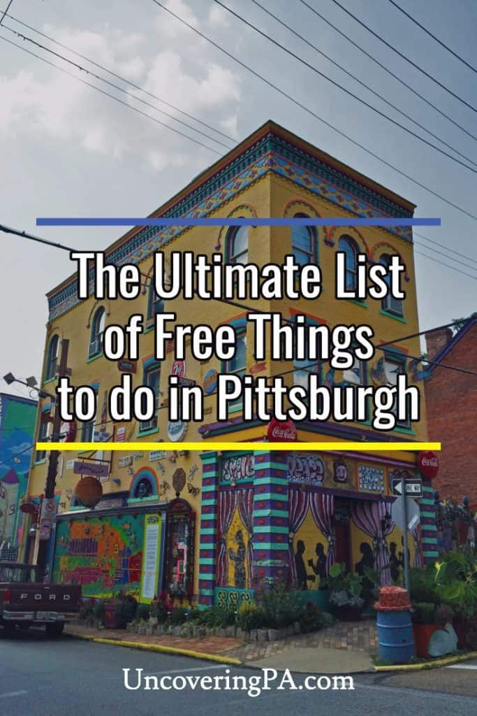 Free Things to do in Pittsburgh, Pennsylvania