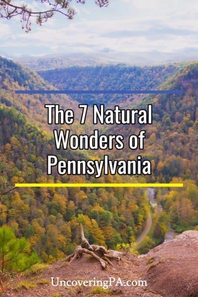 Natural Wonders of Pennsylvania