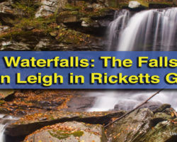 Pennsylvania Waterfalls: The Waterfalls of Glen Leigh in Ricketts Glen State Park