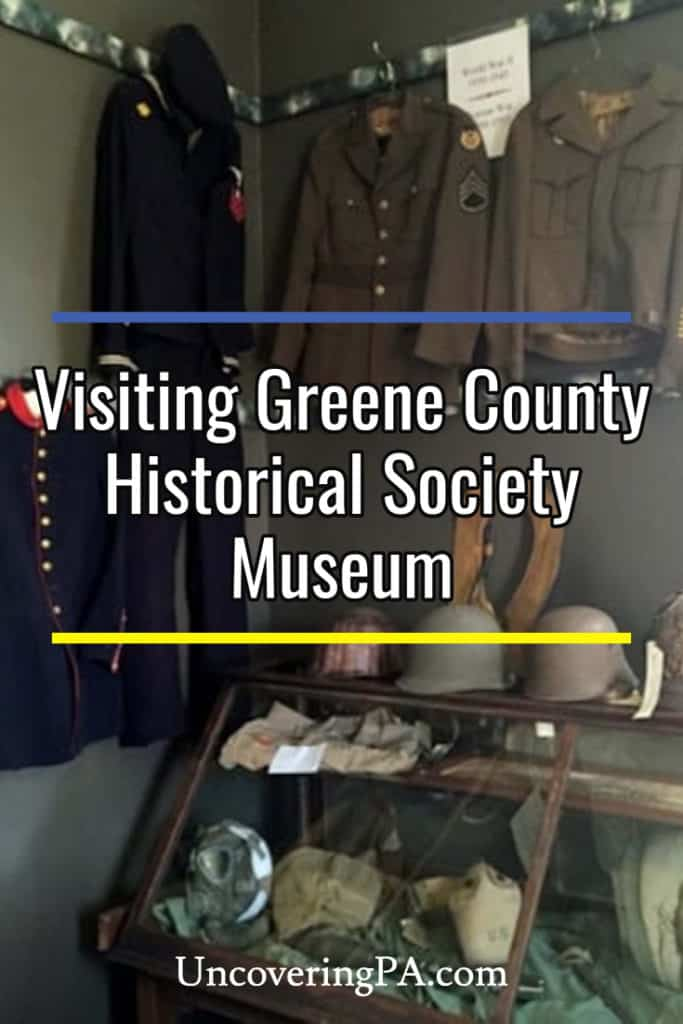 Greene County Historical Society Museum: One of the Largest