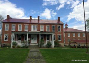 Visiting the Greene County Historical Society in Waynesburg, Pennsylvania