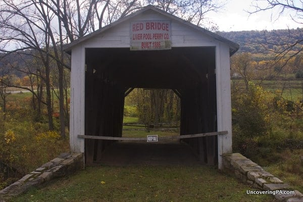Red Covered Bridge near Liverpool, PA