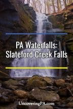 Slateford Creek Waterfalls
