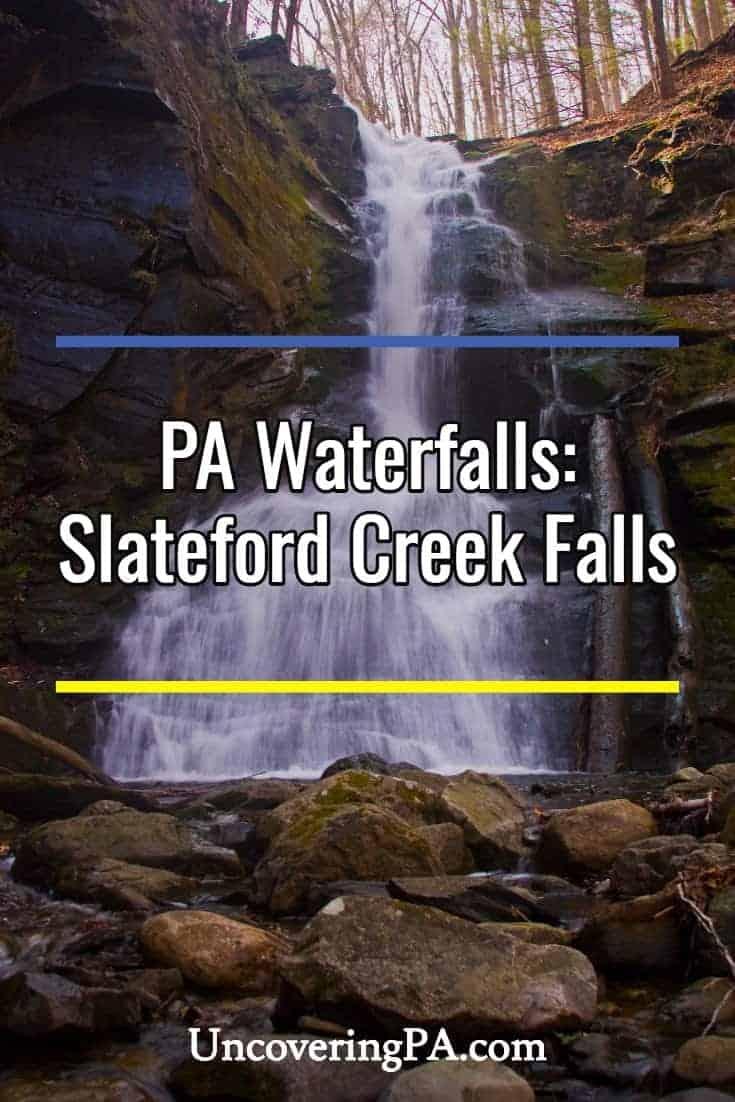 Pennsylvania Waterfalls: Visiting the Waterfalls of Slateford Creek