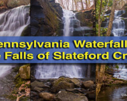 Pennsylvania Waterfalls: Visiting the Waterfalls of Slateford Creek
