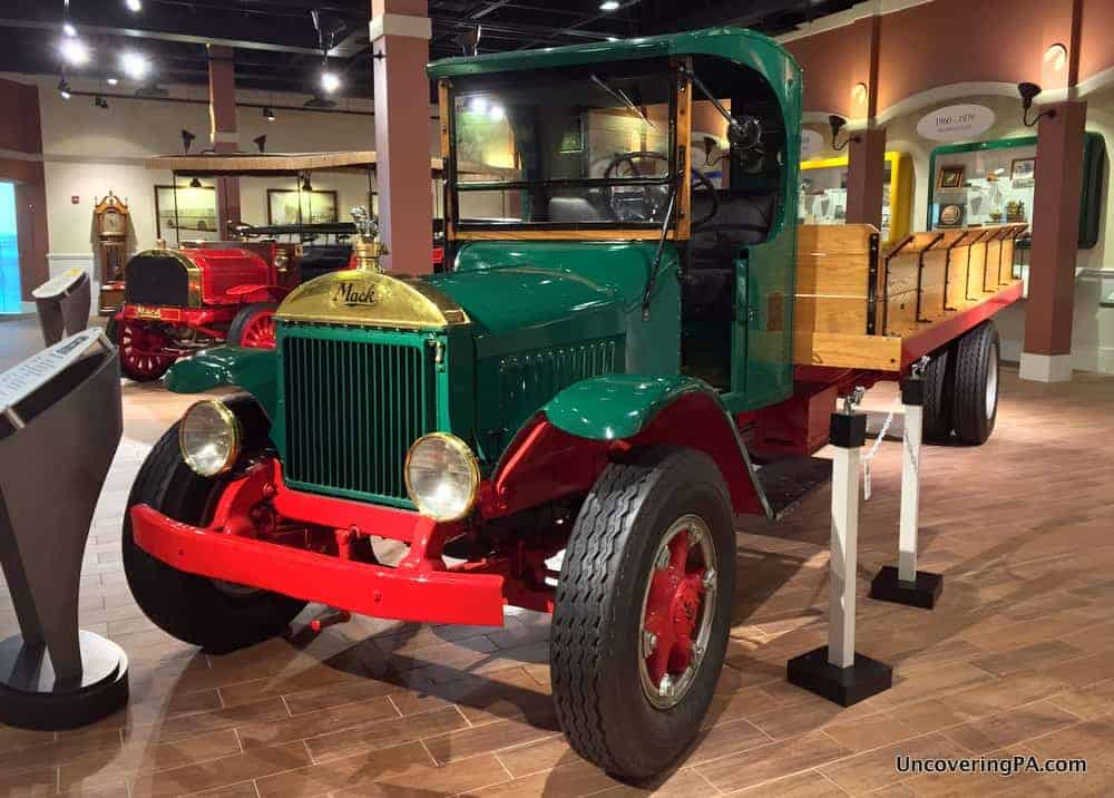 The Mack Trucks Museum is a great thing to do near Penn State Lehigh Valley