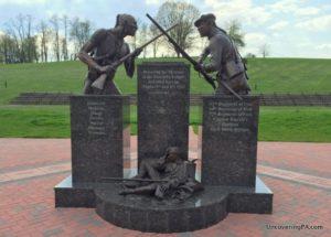 Visiting the Bushy Run Battlefield in the Laurel Highlands of Pennsylvania