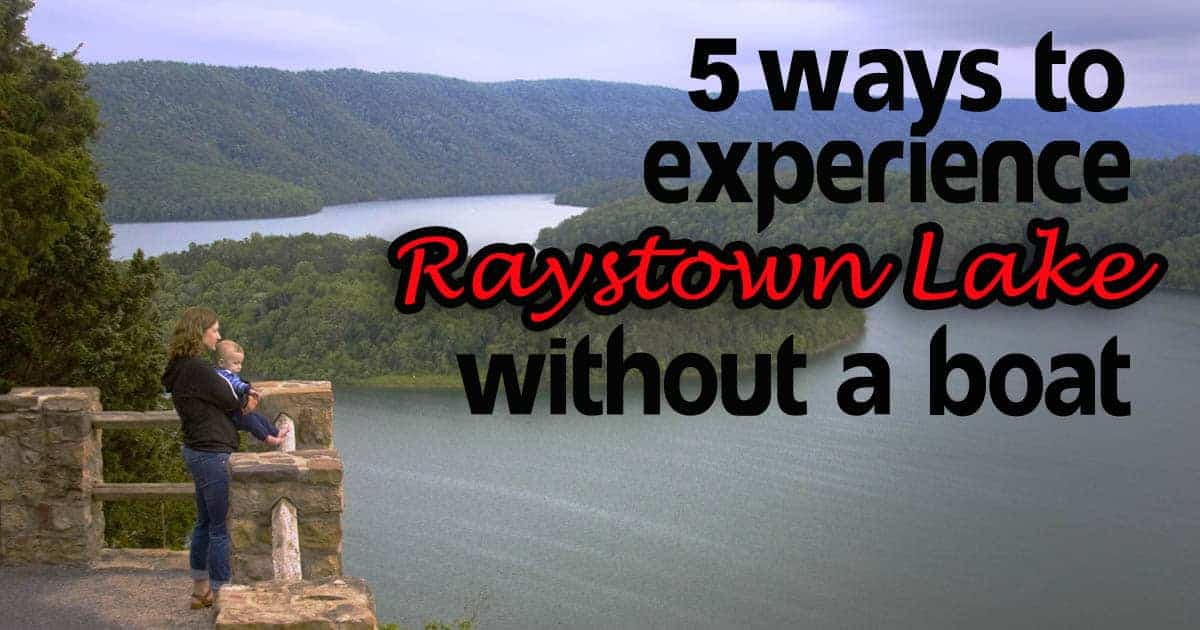 5 Ways to Experience Raystown Lake Without A Boat