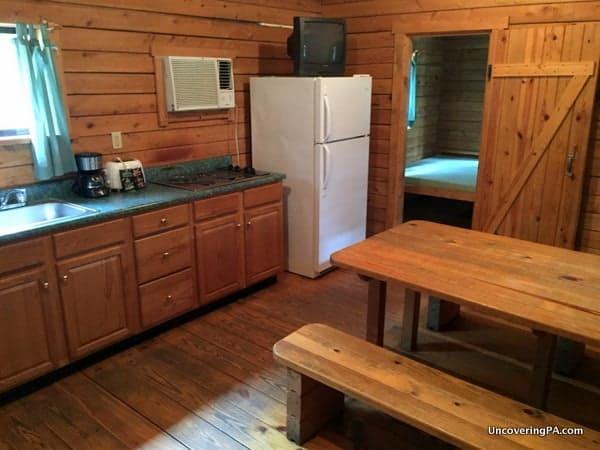 Appalachian Cabin at Lake Raystown Resort Huntingdon County, PA