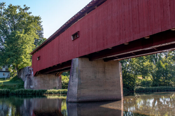 Dellville Covered Bridge near Duncannon PA