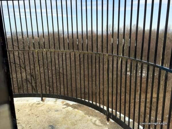 Governor Dick Observation Tower in Lebanon County, PA