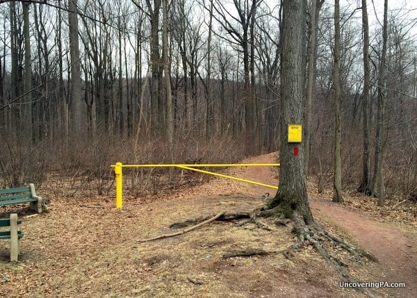 Hiking Trail to Governor Dick Observation Tower