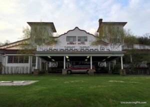 Review of the Historic Summit Inn in Farmington, PA
