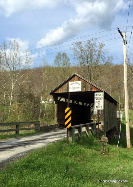 King Covered Bridge in Greene County PA