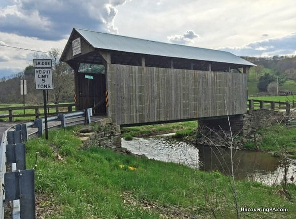 Neddie Woods Covered Bridge near Waynesburg, PA