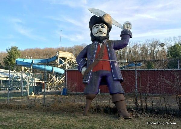 Peg-leg Pirate in Allentown, PA