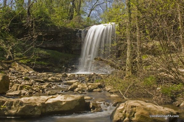 Waterfall on Opossum Run in Connellsville, PA