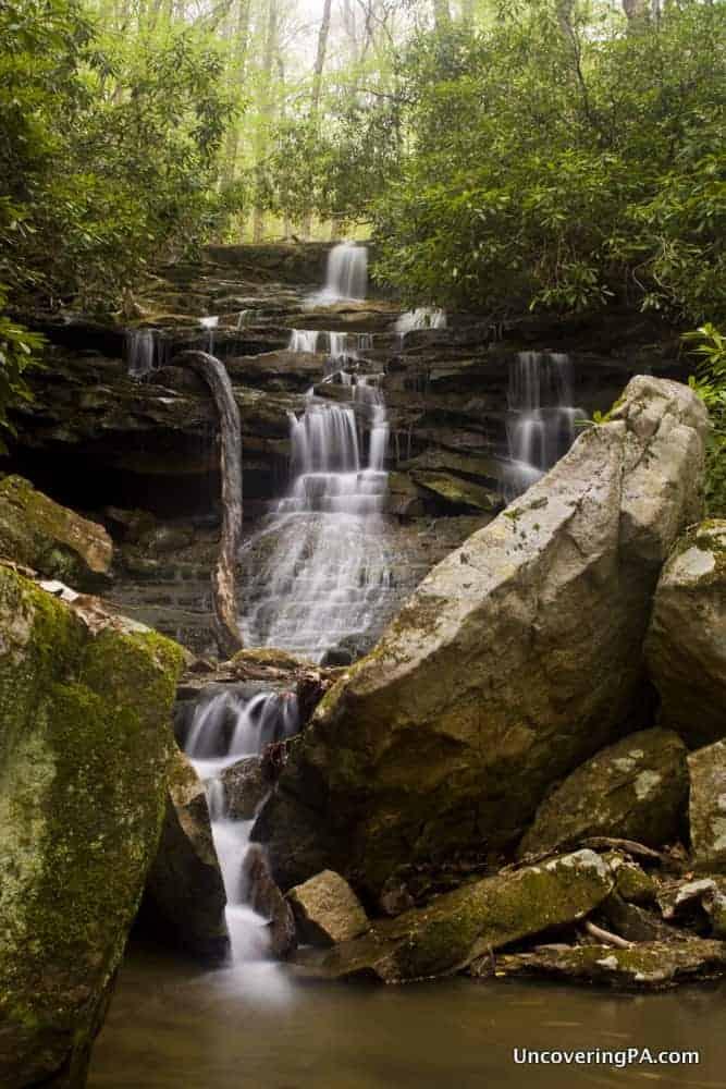 Sugar Run Falls in Ohiopyle State Park