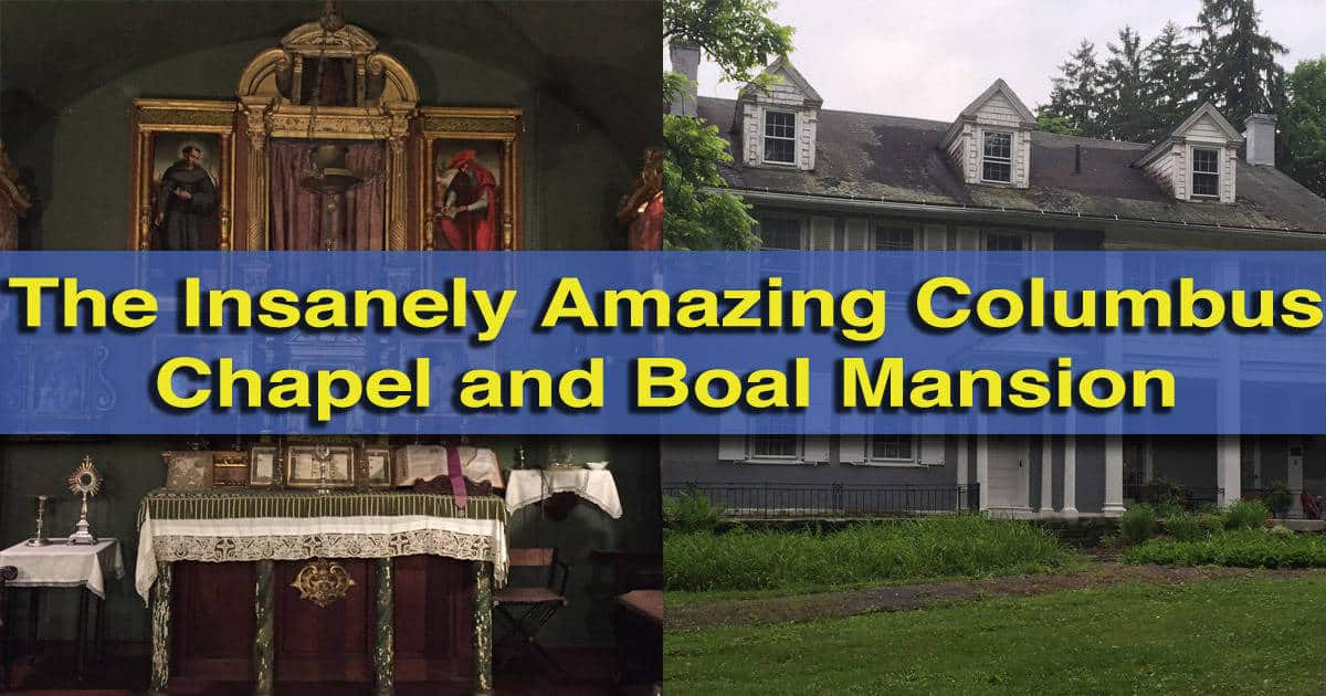 columbus chapel and boal mansion boalsburg pa
