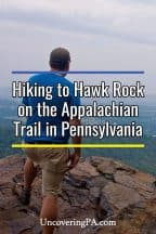 Hawk Rock near Harrisburg, Pennsylvania