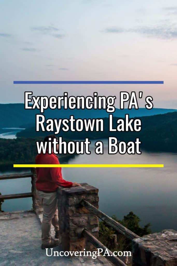 Things to do at Raystown Lake without a boat