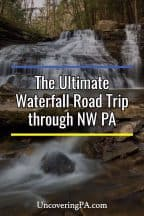 Waterfall road trip through Northwestern Pennsylvania