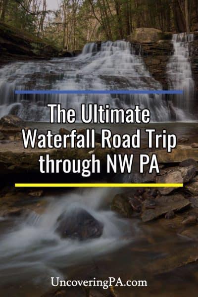 Waterfall road trip through Northwestern Pennsylvania
