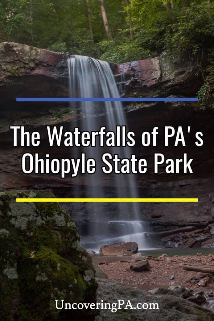 The waterfalls of Ohiopyle State Park