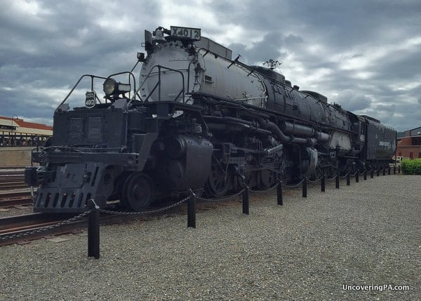 Big Boy Steamtown National Historic Site in Scranton, Pennsylvania