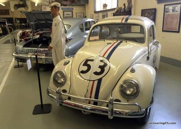 Herbie the Love Bug Swigart Museum in Pennsylvania