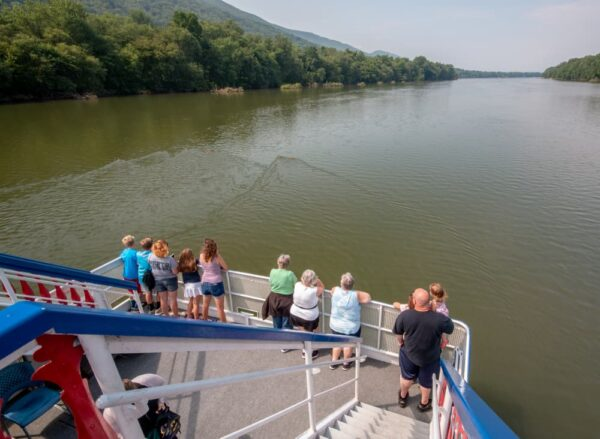 Riding the Hiawatha in Williamsport, Pennsylvania