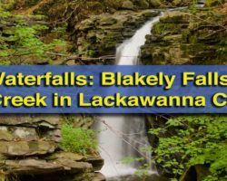 Pennsylvania Waterfalls: The Hidden Blakely Falls in Lackawanna County