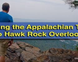 Hiking to Hawk Rock Overlook Along the Appalachian Trail in Duncannon.