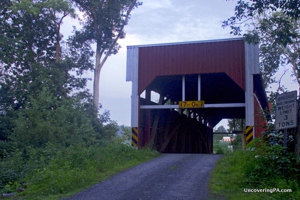Keefer Mills Covered Bridge in Montour County, PA