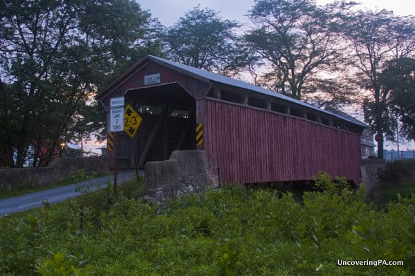 Sam Wagner Covered Bridge in Montour County Pennsylvania