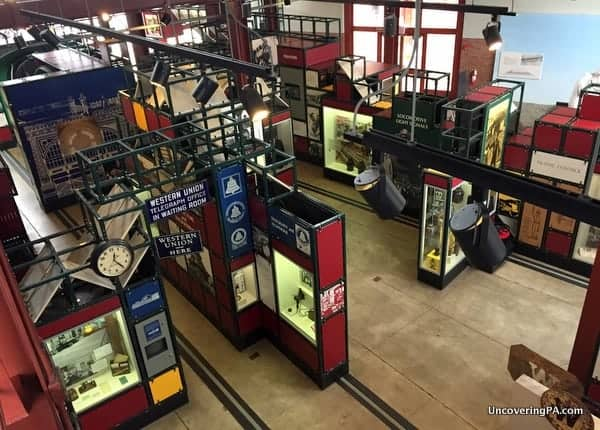 Technology Museum at Steamtown National Historic Site Scranton PA