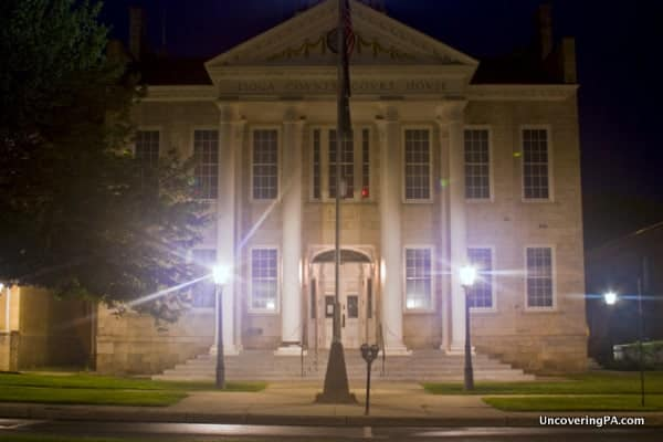 Tioga County Courthouse in Wellsboro, Pennsylvania