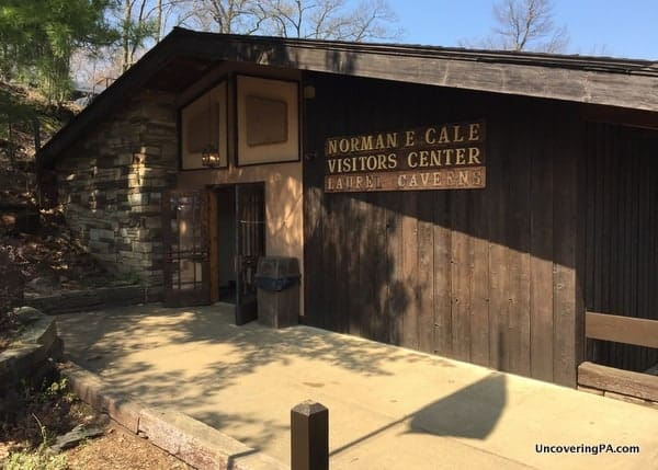 Visiting Laurel Caverns Visitor Center, Pennsylvania